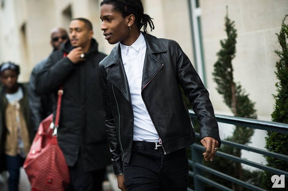 Asap Rocky At Paris Fashion Week Majorindieart
