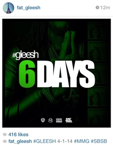 6 days until fat trel gleesh mixtape