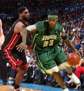 Miami Heat v Oklahoma City Thunder