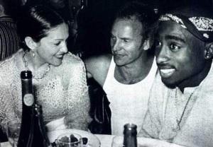 Tupac Sting Madonna