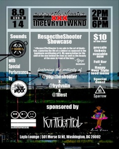 #RespecTheShooter ShowCase